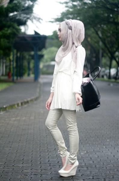 Indah Nada Puspita Fashion Hijab