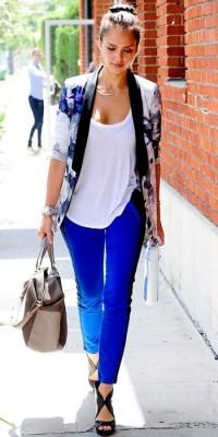 Jessica Alba in Kimono