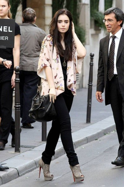 Lily Collins' Fashion & Style