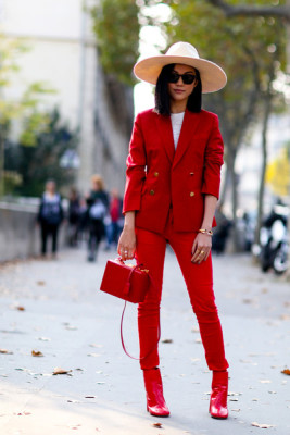 Picked Color: How to Wear Red Outfit