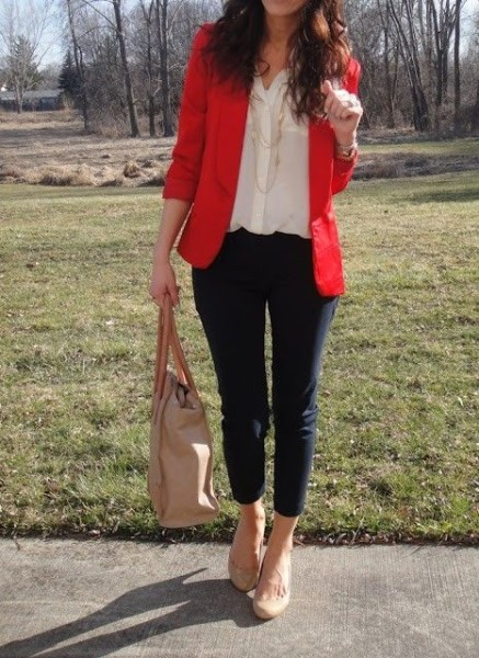 Red Blazers Hit For This Fall