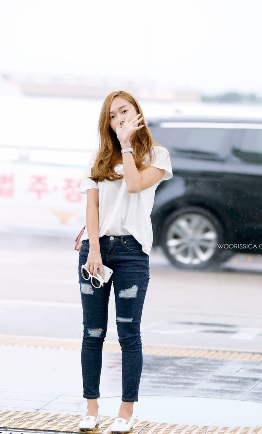 Jessica Jung Airport Fashion ex SNSD