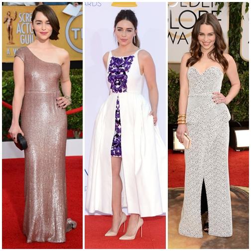 The Best Emilia Clarke Red Carpet Dresses