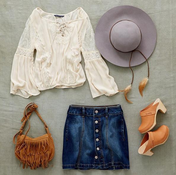 Autumn Wardrobe For Boho Outfit Ideas