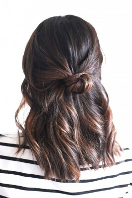 The Half-Up Knot by Treasures and Travels