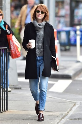 Emma Stone's flawless guide to NYC street style