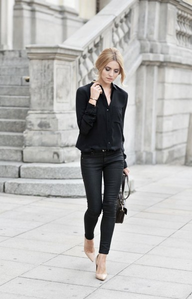 Fashion Inspiration Minimal Black