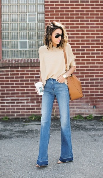 reasons to love flared denim by Hello Fashion Blog