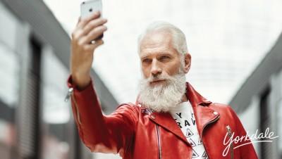 Fashionable Santa By YORKDALE