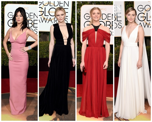 2016 Golden Globes Awards Best Celebrity Dresses