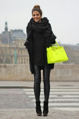 Keep your accessories bold! Love the layers in this outfit! I might add a bit more color, but this is beautiful!