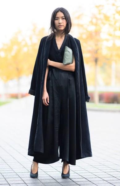 Long Coat Velvet