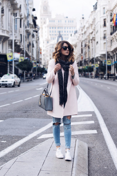 Picked Color: Trend Pink Outfit For Winter 2016