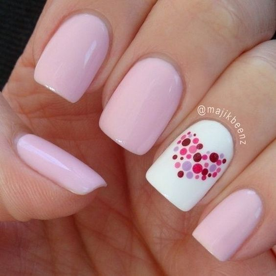 Creative Nail Art Designs for Valentine's Day