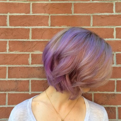 dusty-pinks-and-lavenders-balayage-pastel-purple-hair-for-short-hair