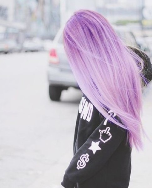 long-straight-pastel-purple-hair-style-for-girls
