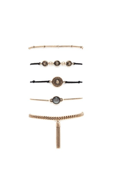 Forever 21 Faux Stone Bracelet Set $6.90