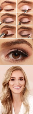 Pink-and-taupe