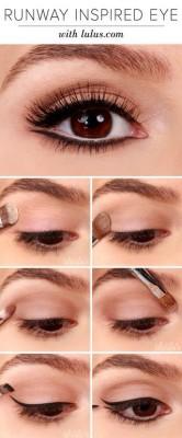 Taupe cat eye