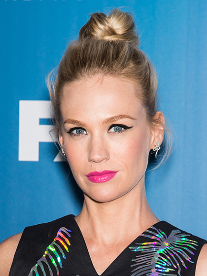 BUBBLE-GUM PINK January Jones
