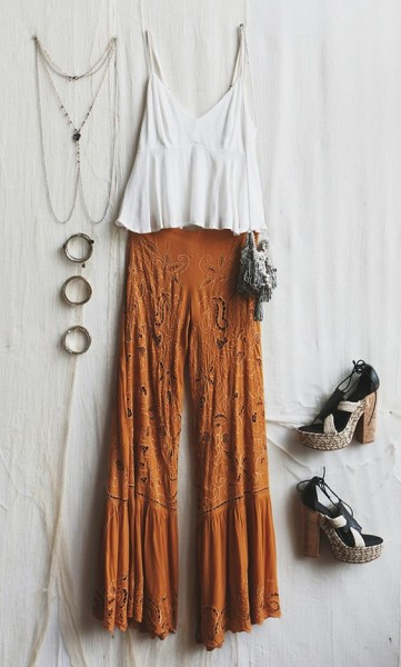 2016 Summer Boho Outfit Inspirations You Can Follow