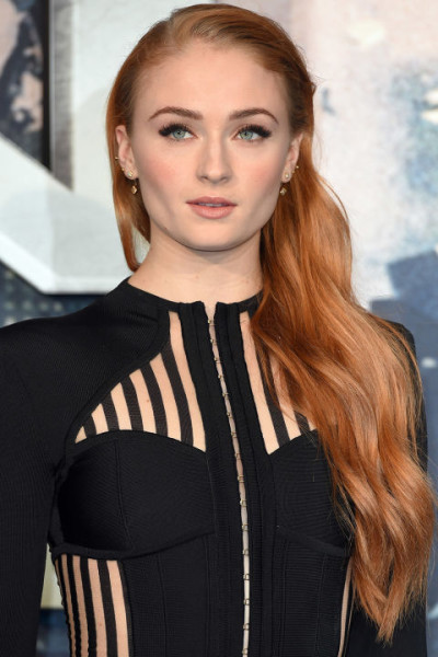 Gradient Copper Sophie Turner