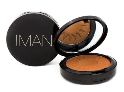 Iman Cosmetics Sheer Finish Bronzing Powder, $16,