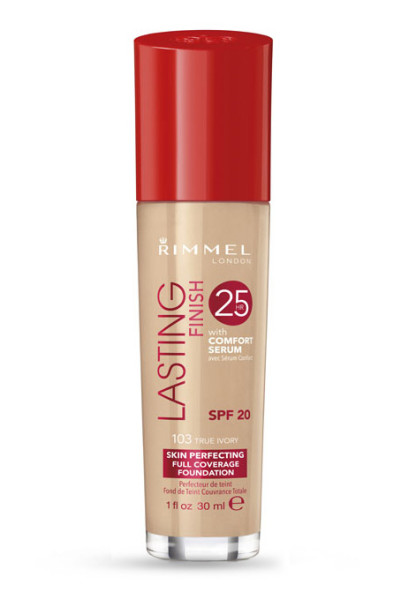 Rimmel London Lasting Finish Liquid Foundation, $7.19; at Drugstore.com