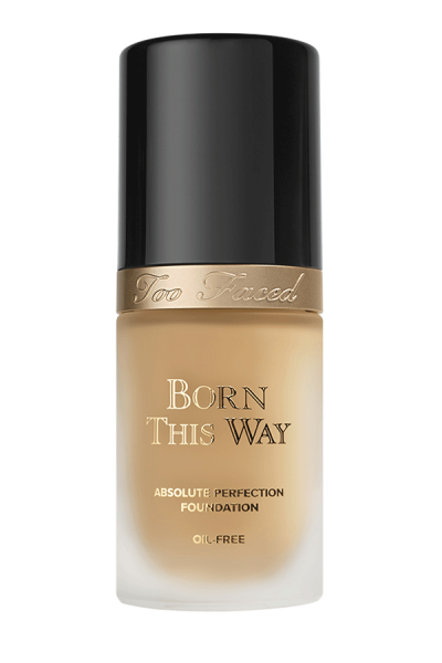 Too Faced Born This Way Absolute Perfection Foundation, $39; at Too Faced