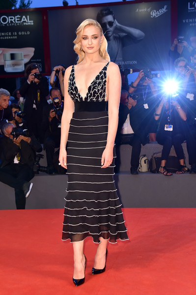 Sophie Turner Cocktail Dress