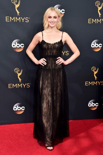 Sophie Turner Lace Dress
