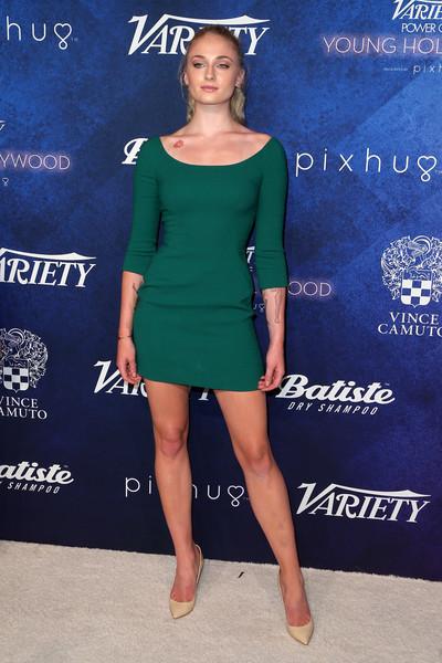 Sophie Turner Mini Dress