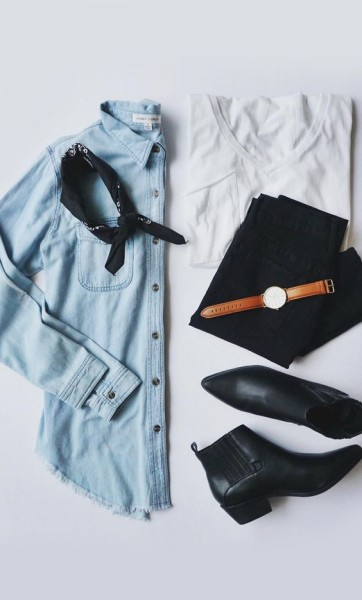via Lulus | Chic Outfit Ideas With Ankle Boots You Should Try Now