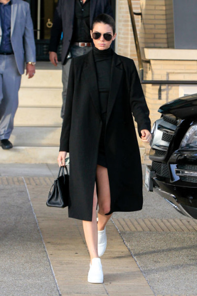 Kendall Jenner |Turtleneck Dress Outfit Ideas For Upcoming Winter
