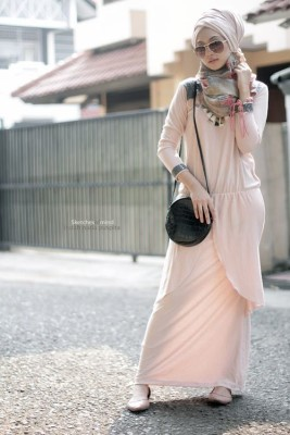 Lovely hijab outfit