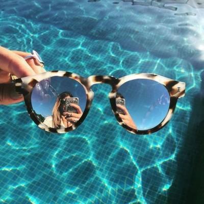 Mirrored Tortoise Shell Sunglasses