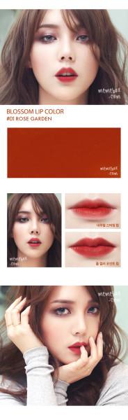Pony Blossom Lipstick #01 Rose Garden