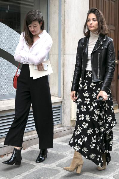 Floral Maxi Skirt _
