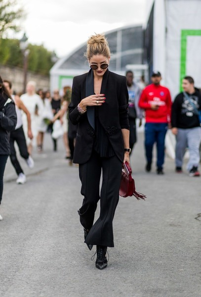 How to Style Pantsuit Outfit Nowadays via Getty Images