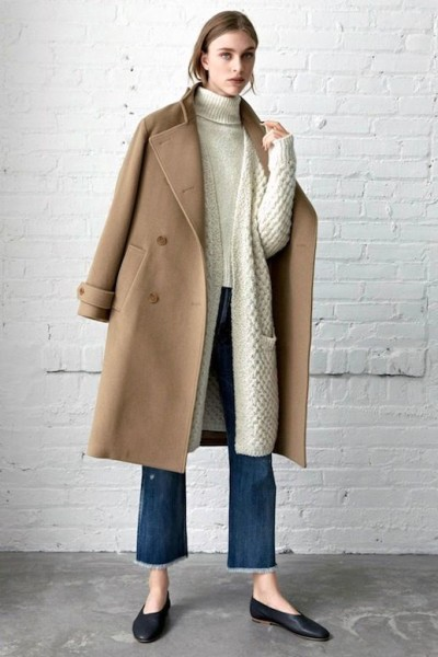 Nordstrom This cozy neutral look is a welcome sight among all the black monochrome