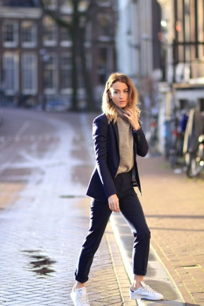 How to Style Pantsuit Oufit Nowadays via bloglovin