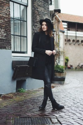 Winter Outfit With Fedora Hat, Why Not? Try These Looks!