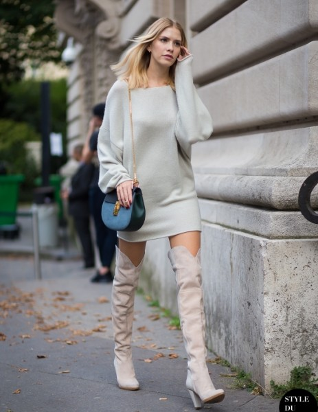 4.-cashmere-dress-with-thigh-high-boots