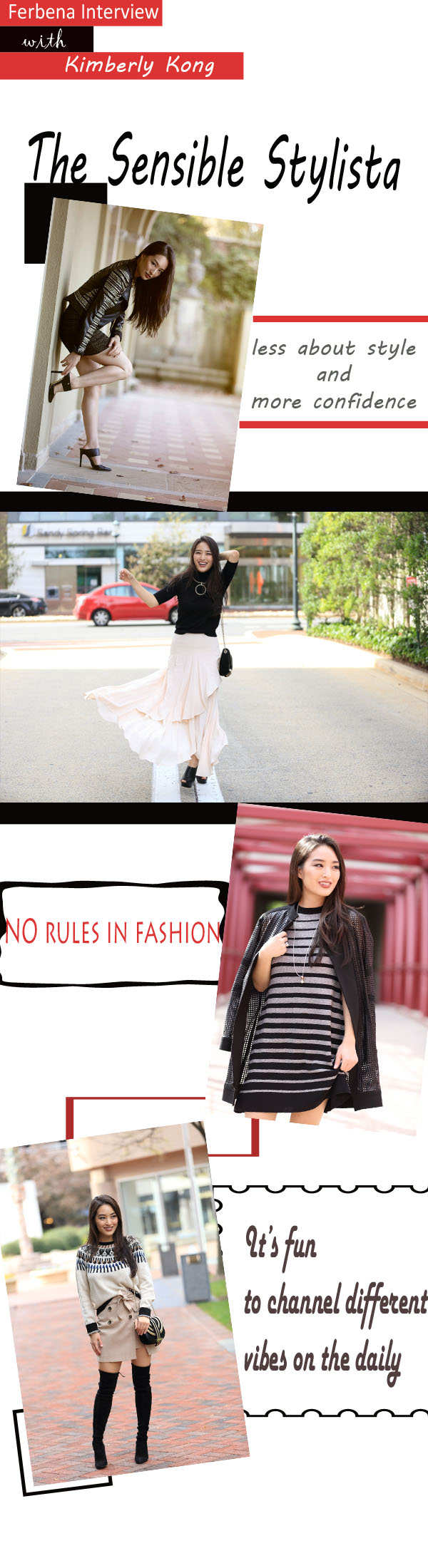 Interview with Kimberly Kong: The Sensible Stylista