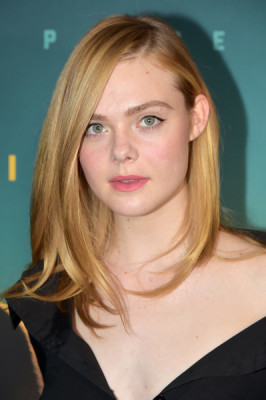 Elle Fanning looked stylish with her bouncy lob at the New York screening of 'Live by Night.'