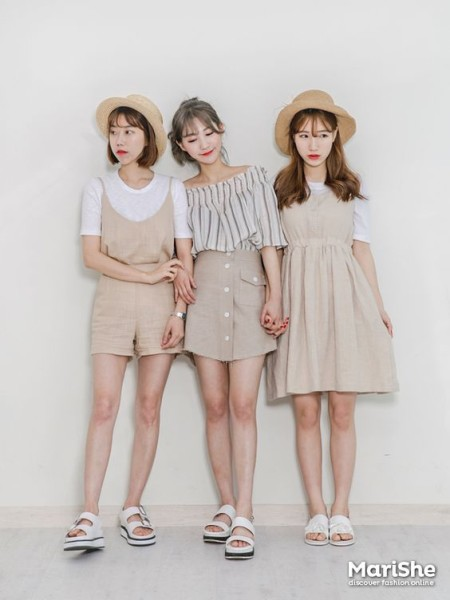 Friendship-goal Outfit Ideas based on Korean Style