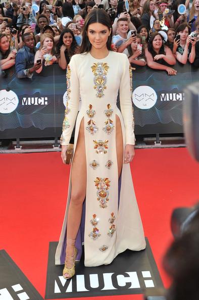 Kendall Jenner Beaded Dress