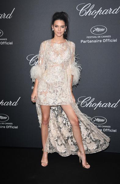 Kendall Jenner Fishtail Dress