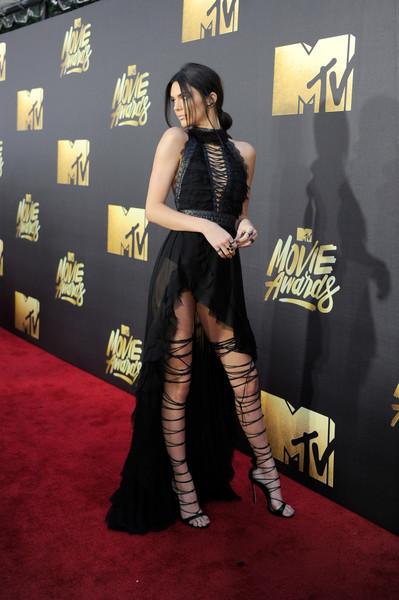 Kendall Jenner Halter Dress