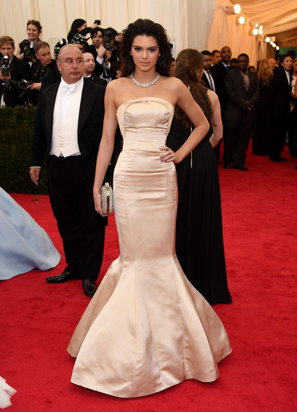 Kendall Jenner Mermaid Gown
